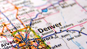 Map of denver